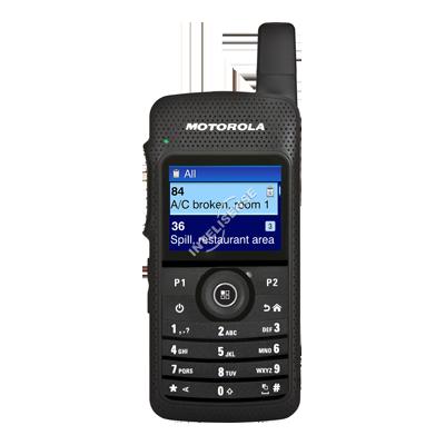 Rádio Motorola Portátil Digital Compacto SL8050 MOTOTRBO