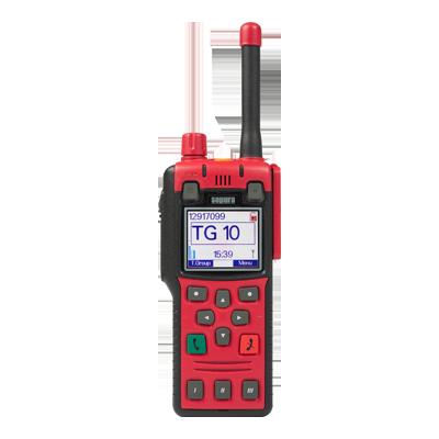 Rádio Portátil Tetra Digital STP8X100 Sepura
